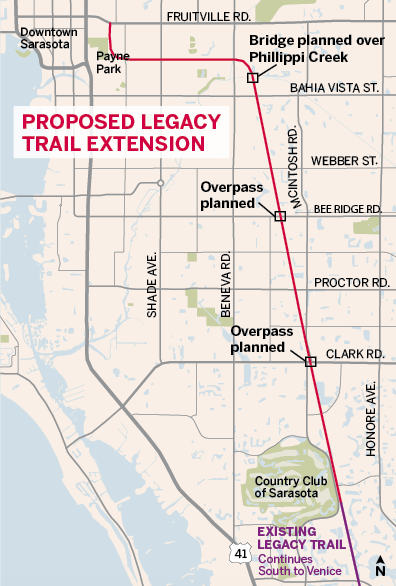 Voters to decide on funding Legacy Trail extension | Sarasota | Your on