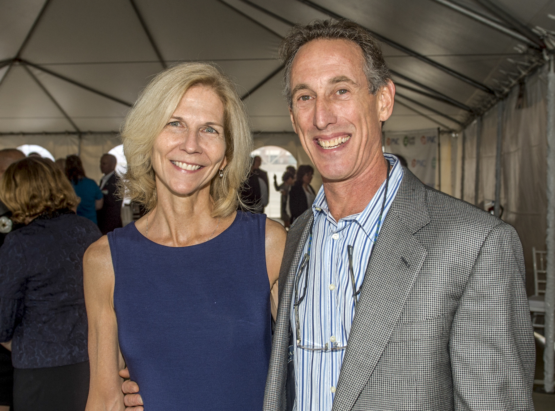 Larry Eger and his wife, Susan Burns, are just two of the slew of movers and shakers who have called the downtown YMCA home.