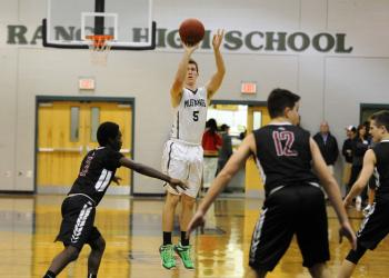 Lakewood Ranch leading scorer Sam Hester and his Mustang teammates are hoping to lock up the No. 1 seed in the Class 7A-District 11 tournament with a win Jan. 19.