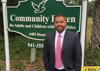 Community Haven President and CEO Brad Jones, photo courtesy of Community Haven.