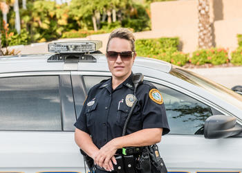 Wendy McGinnis, formerly of the Longboat Key Police Department.