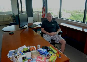 Rick Mills in office