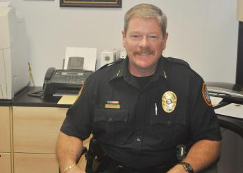 Pete Cumming became acting police chief in May, after four years as a captain.