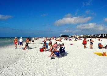 The Siesta Key beach improvement project will be one of the items up for discussion at Tuesday's SKVA meeting.