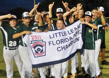 Lakewood Ranch clinched the District 26 11/12 division title July 13.