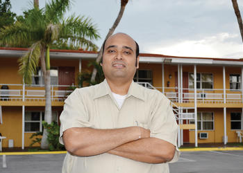 Jay Patel, president of the North Trail Redevelopment Partnership, owns the Regency Inn and Suites, and he hopes to attract other business owners to North Tamiami Trail.