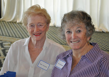 June Ansorge and Eve Kommel