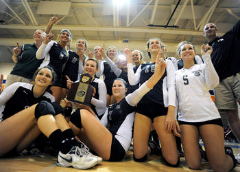 The Lakewood Ranch High volleyball team will play in the Class 6A-Region 3 finals at 2 p.m. Nov. 12, at Tarpon Springs.