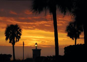 Joanne Sheehan submitted this sunset photo, taken at Beach Harbor Club.