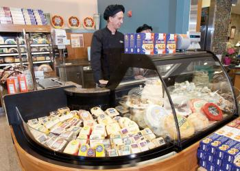 Like the Naples hybrid store, the Longboat Key Publix will offer an enhanced selection of artisan cheeses and will have a cheese specialist on staff. Photo courtesy of Publix.