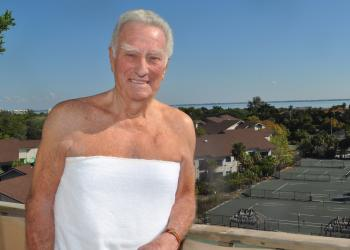 Dr. Murf Klauber endorses the future of his new resort  and encourages unit owners to partake in the naturist trial period.