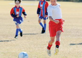 Center midfielder Aristotle Zarris, 12, plays for the Lakewood Ranch Chargers U12 team. File photo.