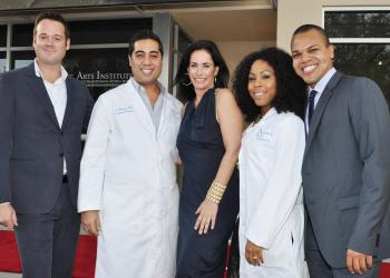 Ryan Heers, co-owner Dr. Elijah Benioni, Kimberly Marlow, co-owner Dr. Briana Southerland and Warren Decuir