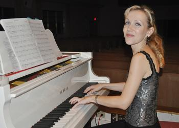 Katherine Alexandra was named music director at the Longboat Island Chapel earlier this year.