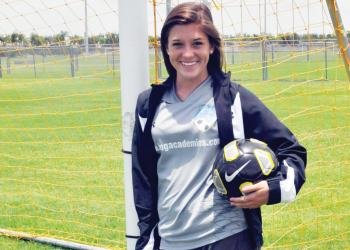 Lakewood Ranch High graduate Nikki Kerrigan spent the past year playing for IMG Academy's U19 girls team