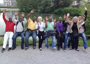 The Westcoast Black Theatre Troupe is living large in Germany. Courtesy photo.