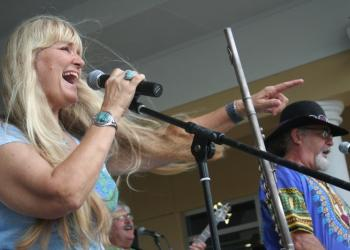 The monthly concert draws thousands from all over the Sarasota/Bradenton area. File photo.