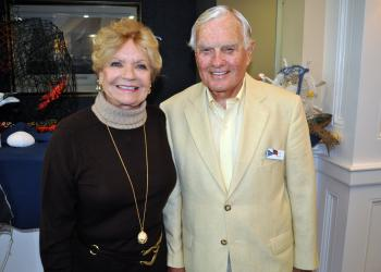 Joyce and Bill Steele were the hosts for the Welcome Back Seafood Dinner Saturday, Nov. 3, at the Bird Key Yacht Club.