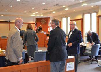 In September, representatives from the town and IPOC met in a Sarasota courtroom to present their cases for a challenge to the town's code changes.