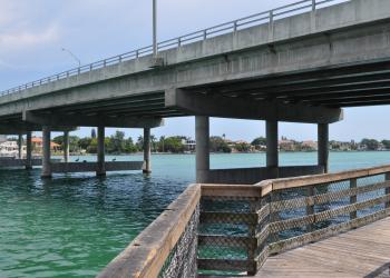 New Pass Bridge and Gulf of Mexico Drive will receive some routine maintenance work this week that won't cause traffic delays.