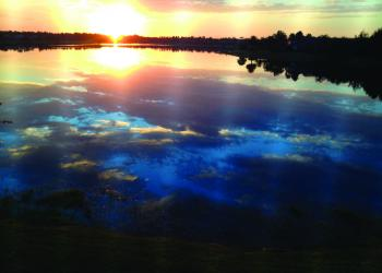 Maggie Bechtold submitted this sunrise photo, taken over Lake Uihlein in Lakewood Ranch.
