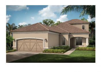 Taylor Morrison will use a California Tuscan design on five floor plans for homes in the Esplanade by Siesta Key.