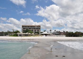 The beach view from the Colony Beach & Tennis Resort is deemed as unsightly from Key residents.