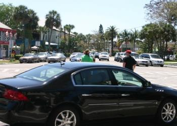 Traffic on Gulf of Mexico Drive and St. Armands Circle is causing delays.