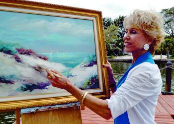 Bird Key Yacht Club will display Maryanne Maier's paintings March 12 through May 7.