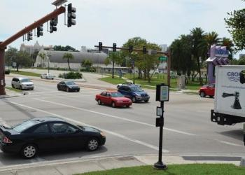 The intersection at 10th Street and U.S. 41 would see a roundabout as part of a $100 million project to add the features along the bayfront.