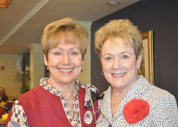 Peggy Latini and Judy Colvin