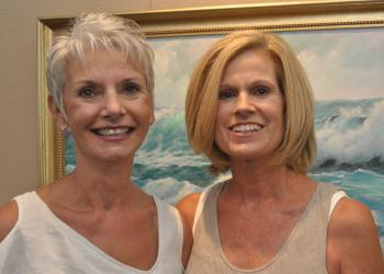 Wendy Walker and Nancy Moore organized the event