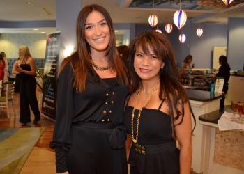 Ashley Bafia and Dr. Melinda Lacerna