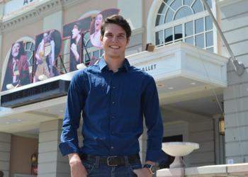 """You know what you said, but you don't know what they heard,"" newest member of Sarasota Ballet, Ian Tanzer, says of what it's like to see himself on episodes of CW's ""Breaking Pointe."""