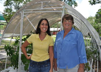 The Selby School Director Carolyn Johnson and program coordinator Carolyn Marchbank are eager to welcome students to the school, which features classrooms, a computer lab and a new physical-education area.