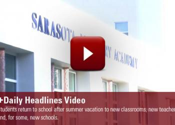 Students return to school after summer vacation to new classrooms, new teachers and, for some, new schools.