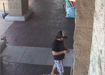 A Publix surveillance camera has snapped pictures of a man Sarasota County deputies say made fraudulent withdrawls from ATMs.