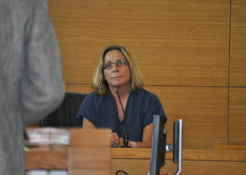 Judy Paul testified on her behalf Friday, Sept. 13, at a sentencing hearing at the Manatee County Judicial Center.