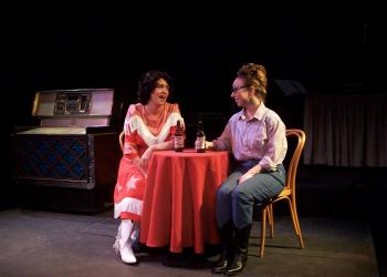 "Alana Opie and Brittney Klepper in ""Always … Patsy Cline."" Photo courtesy Manatee Players."