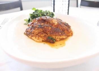 Pattigeorge's on Longboat Key serves up red snapper, which can be caught in the Gulf of Mexico.