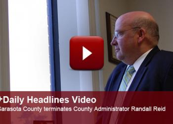 Sarasota County commissioners vote to terminate County Administrator Randall Reid.