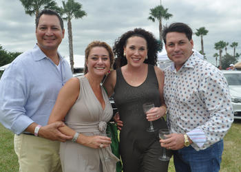 Octavio and Jessica Ortiz with Lisa and John Shepard