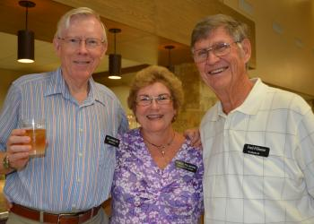 Bill Hamilton, Carol Fillmore and Fred Fillmore