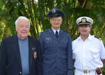 General John Casey, Dr. Larry Steagall and Dr. William Evanko