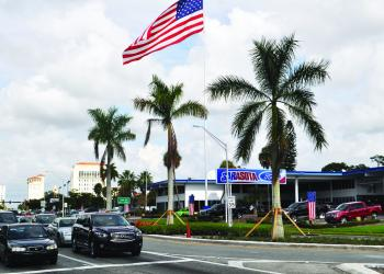Palms on U.S. 301 cost about $90,000.