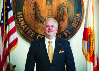 Mark Wemple. Rick Mills became named superintendent of the Manatee County School District in March.