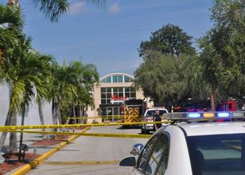 Authorities locked down the Westfield Southgate Shopping Center yesterday following a suspicious incident. Today, the Sarasota Police Department revealed a man had been spreading his fiancee's ashes.