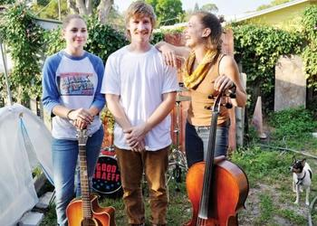 Brooke Graeff, Joe Abraham and Brittany Graeff have played together since high school.