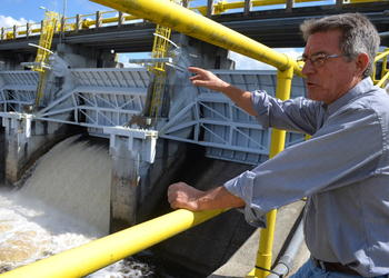 Bruce MacLeod, superintendent of Manatee County's Lake Manatee Water Treatment Plant, said he hopes any repairs, if necessary, would be completed before the summer.