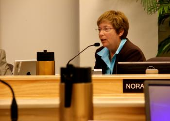 County Commissioner Nora Patterson.
